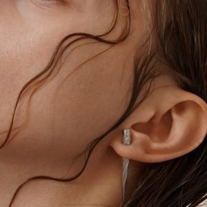 Narwhal Mono Earring